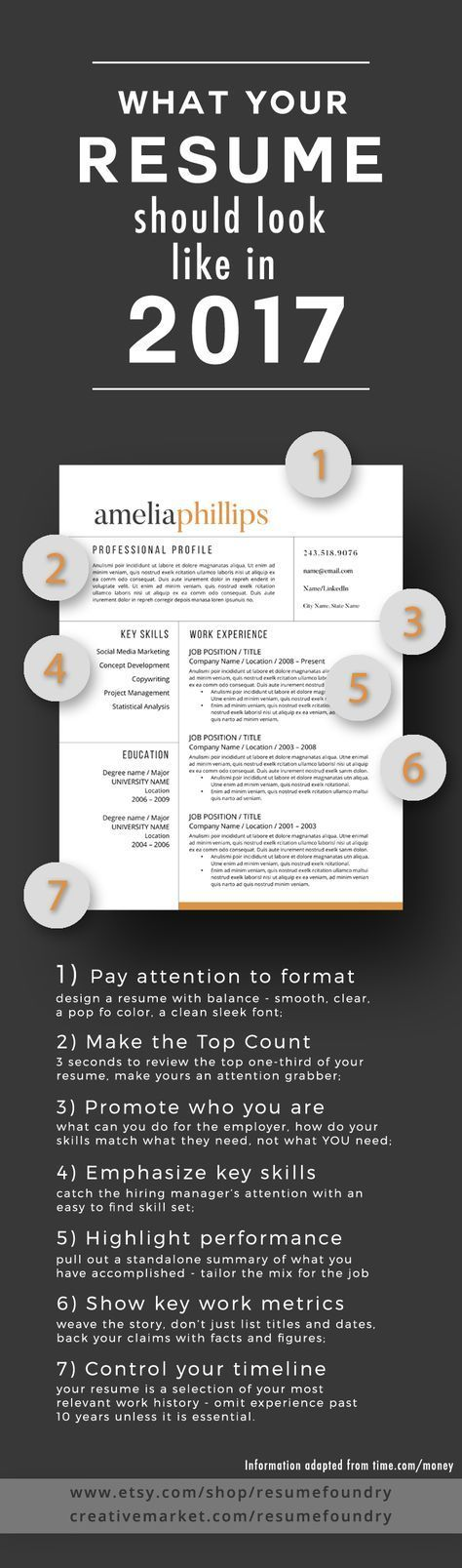 7 tips to transform your resume to 2017 Check out the article at - how to perfect your resume