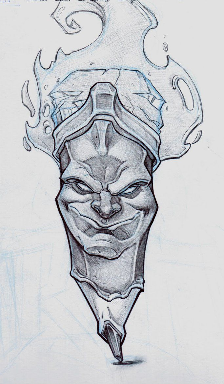 Evil Pencil By Raul Moreno Comic On Deviantart Sketches Art