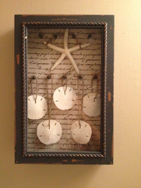 Sand Dollar Shadow Box | Crafts | Beach themed crafts ...