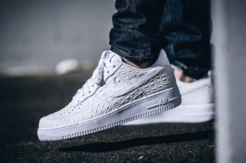Nike Air Force 1 07 White Croc Shoes UK Sale | Nike air