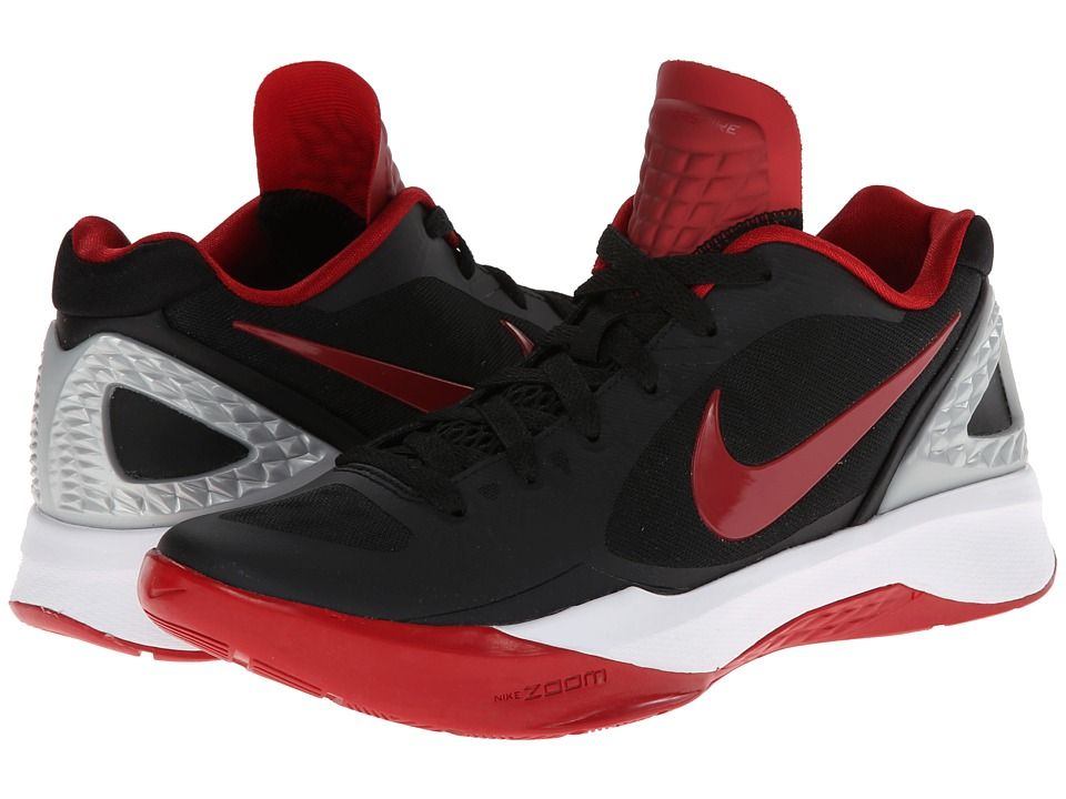 c66b432754fae4 NIKE NIKE - VOLLEY ZOOM HYPERSPIKE (BLACK METALLIC SILVER WHITE GYM RED) WOMEN S  VOLLEYBALL SHOES.  nike  shoes