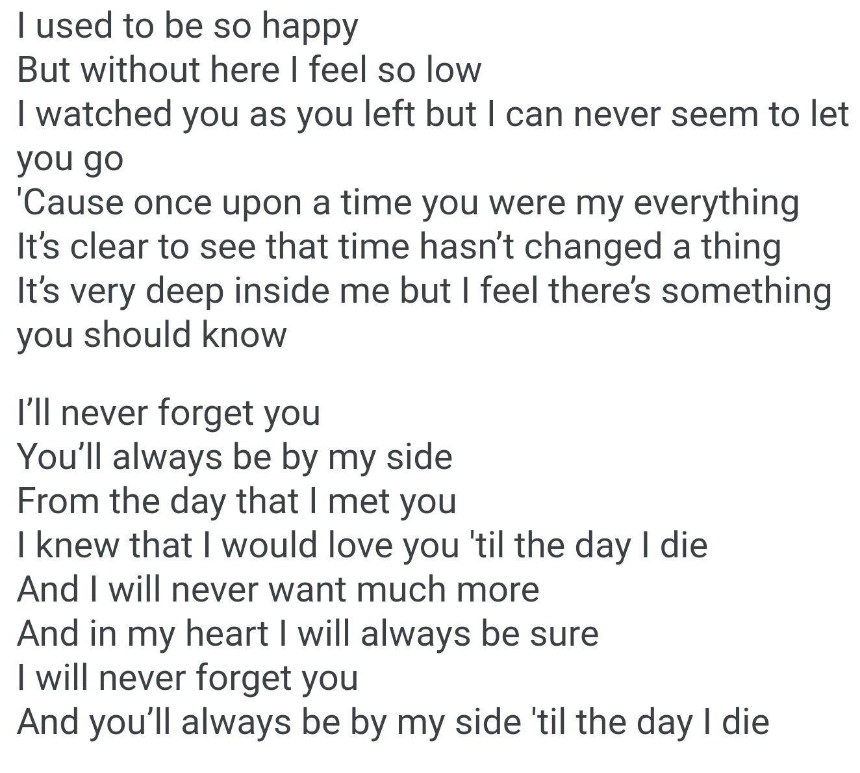 Never Forget You Zara Larsson Mnek Lyrics Never Forget You Lyrics Zara Larsson Lyrics Lyric Quotes