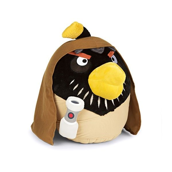Shop obi wan bird plush toy magento gift guide 2013 pinterest obi wan - Angry birds big brother plush ...