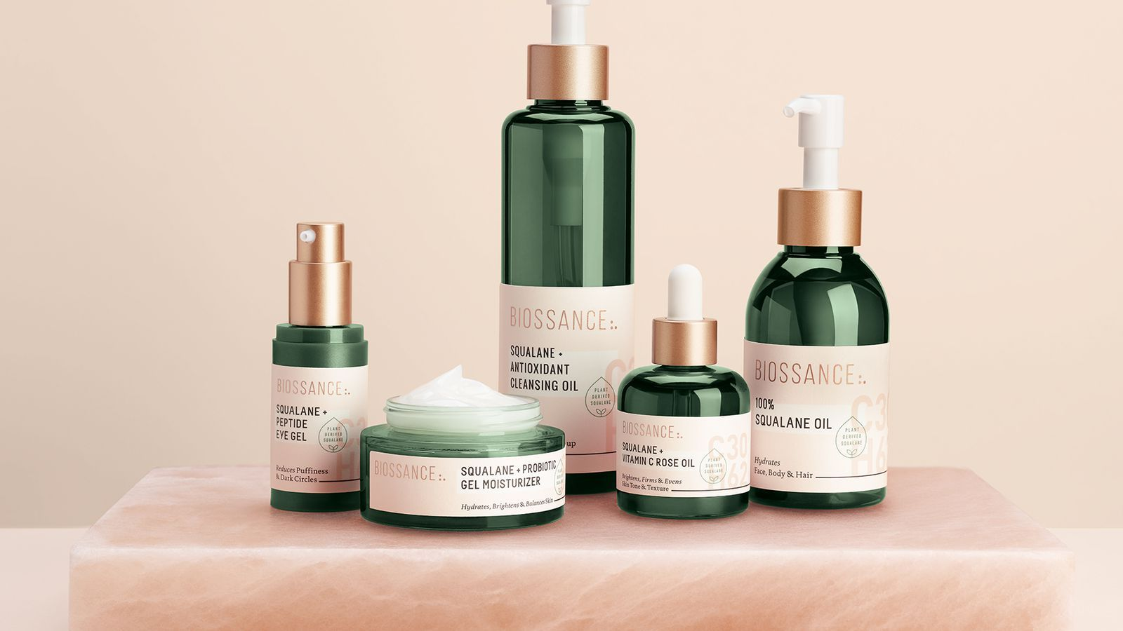 Heard Of Biossance If Not You Soon Will Natural Cosmetics Packaging Skin Care Packaging Beauty Packaging