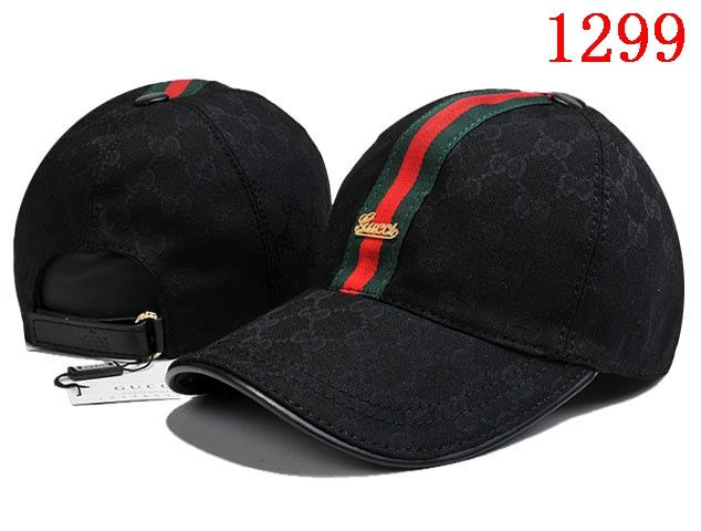 0c51285a2a9 Gucci Canvas Baseball Hat