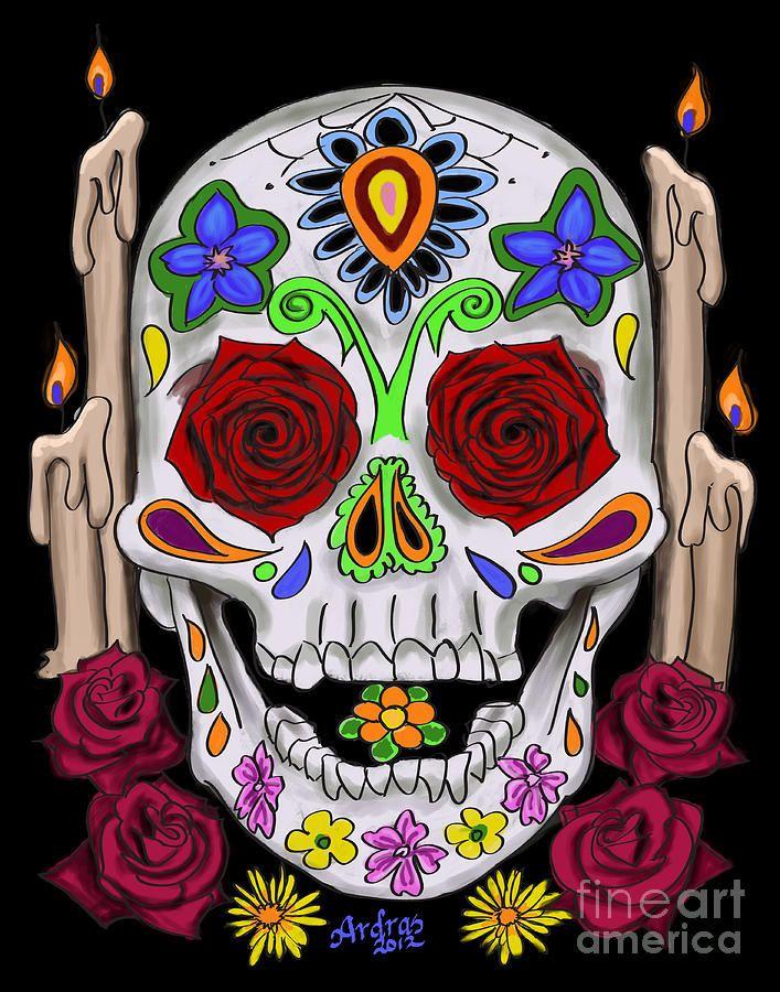 Dia de los Muertos | SugarSkulls | Pinterest | Sugar ...