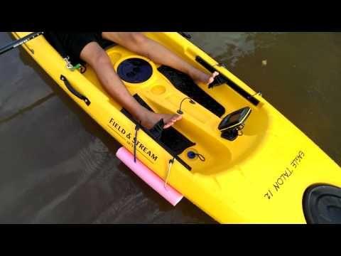 Easy Homemade Kayak Outriggers Pontoons Stabilizers Diy Youtube Kayak Fishing Inflatable Kayak Kayak Fishing Diy