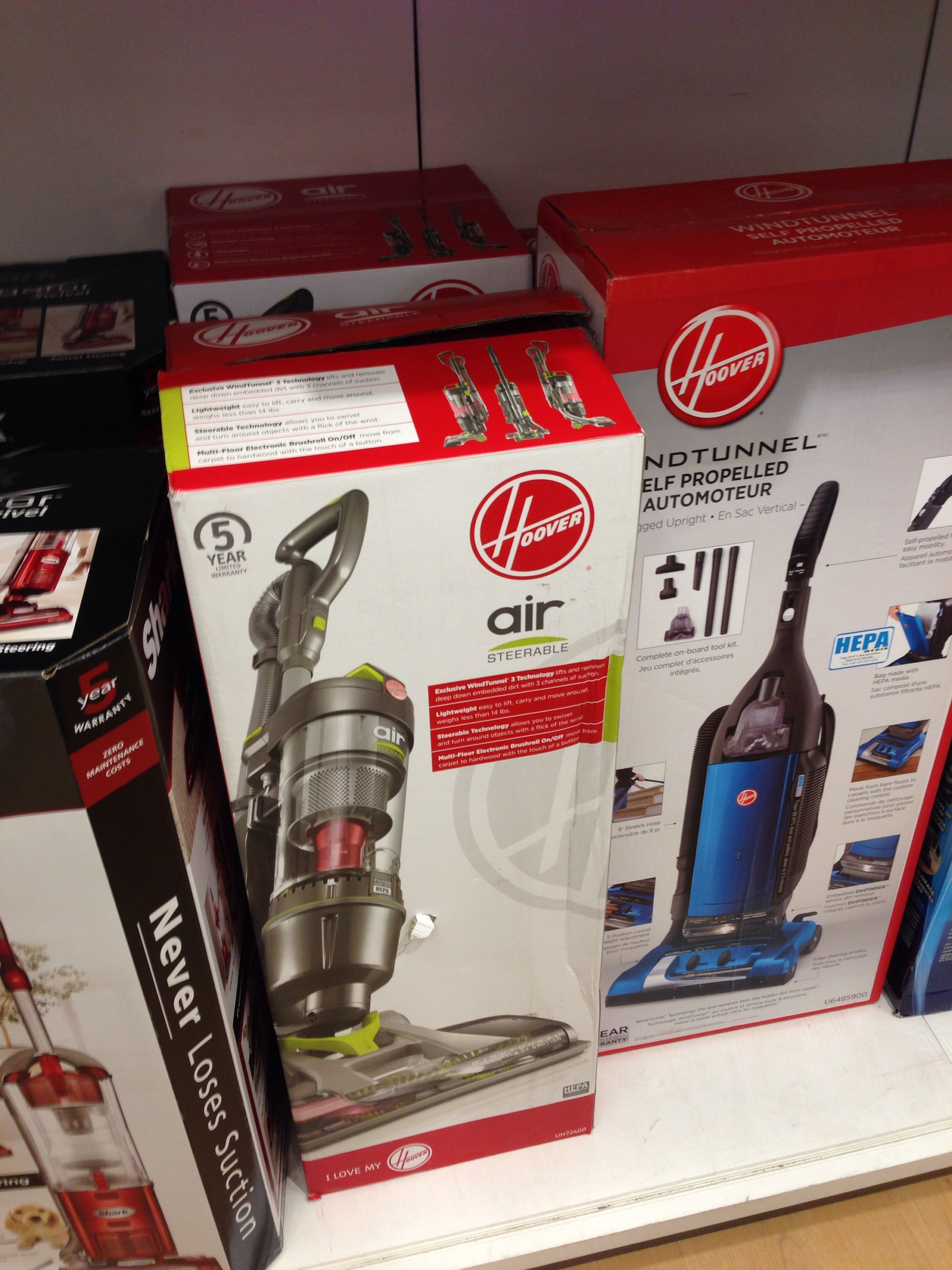 Hoover lightweight vacuum