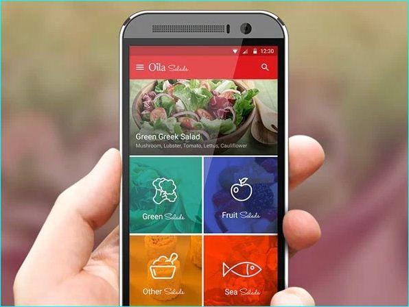 pin on 25 inspiring recipe app ui design on kitchen remodel apps id=45656