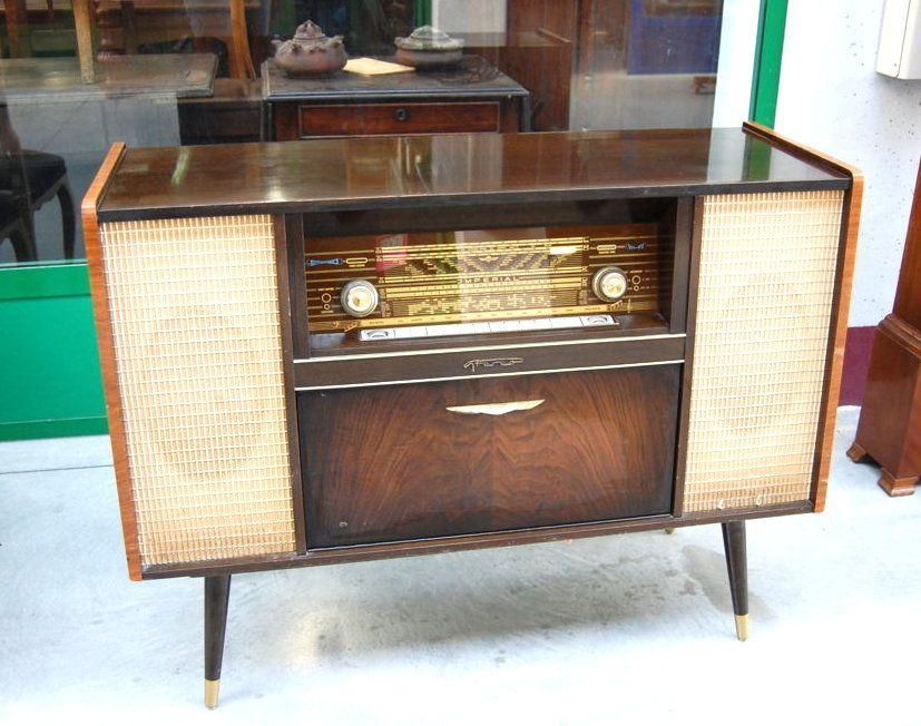 Credenza Con Retina : Radio con giradischi stereo inizio fronte cm mobili d