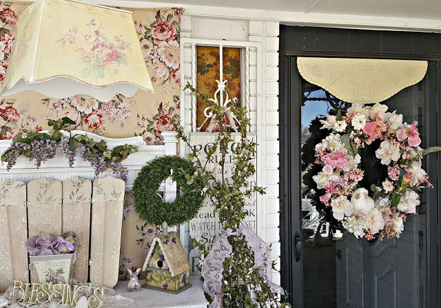 Penny's Vintage Home: Spring Wreath