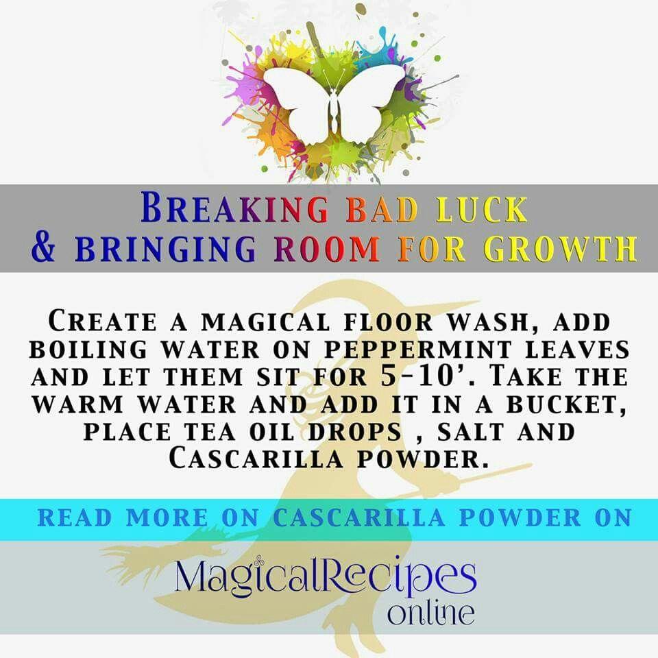 Magical floor wash. Luck spells, Spell book, Hoodoo
