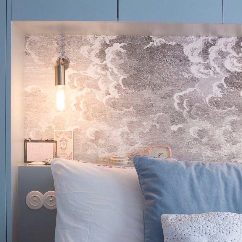 Le Decor Mural Nuvole Gris De La Collection Fornasetti De Cole And