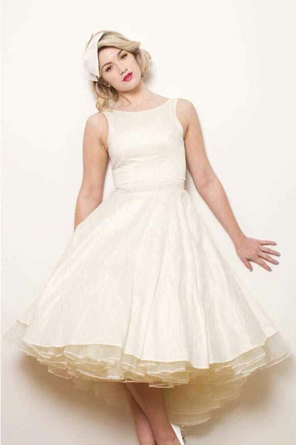 Lovely wedding dress and petticoat | Petticoats, Polka Dots, and ...