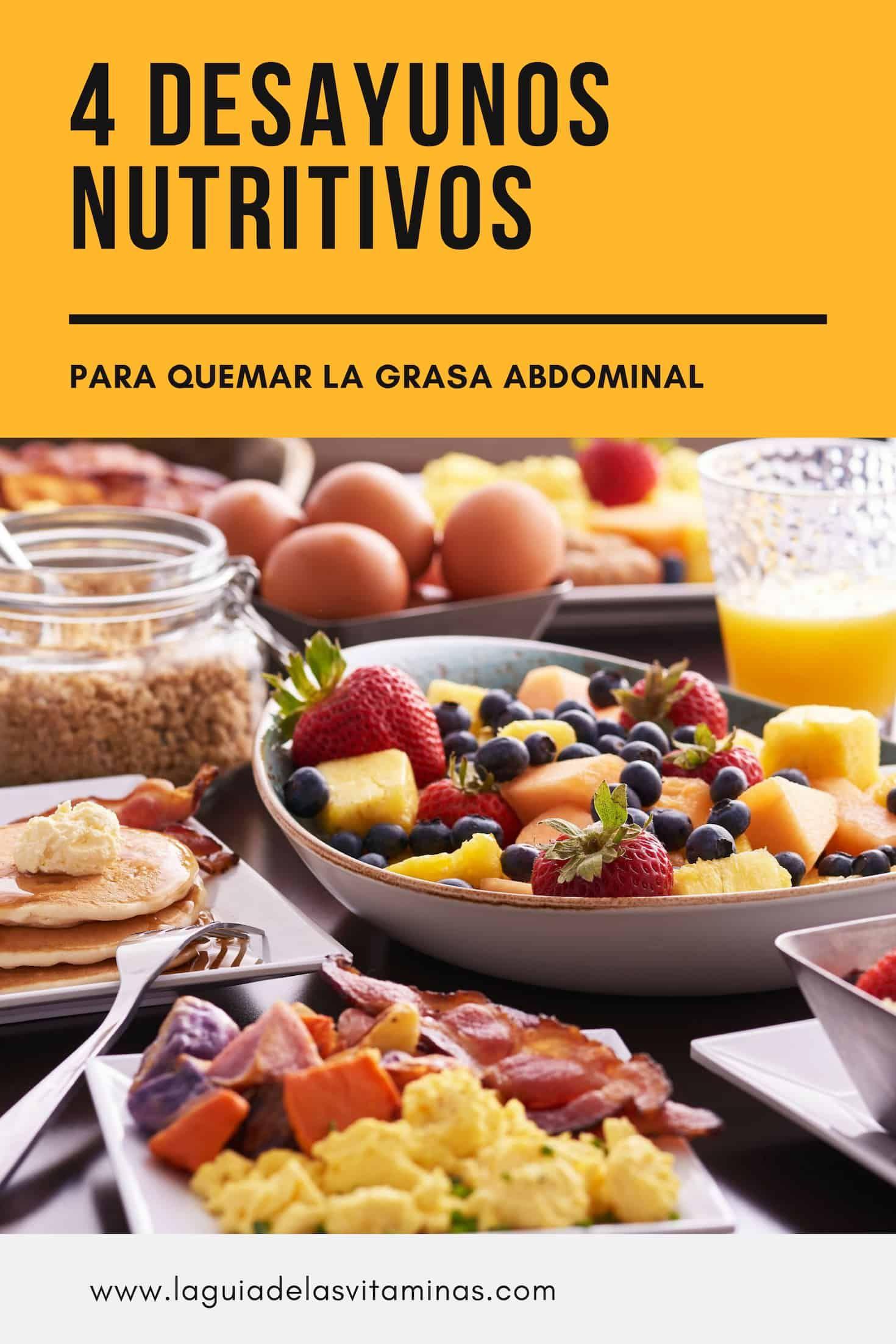 Desayuno para bajar de peso economico