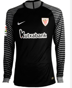 fbad5ecdfb7b2 Camiseta portero Athletic Club Bilbao manga larga 2017