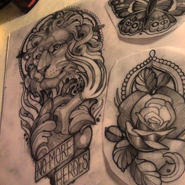 Done by Joe Frost, tattooist at Oddfellows Tattoo Studio