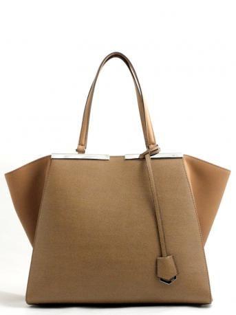 Fendi-fendi 3jours bag-shopping bag-fendi 3jours-borsa shopper-color orzo-barley