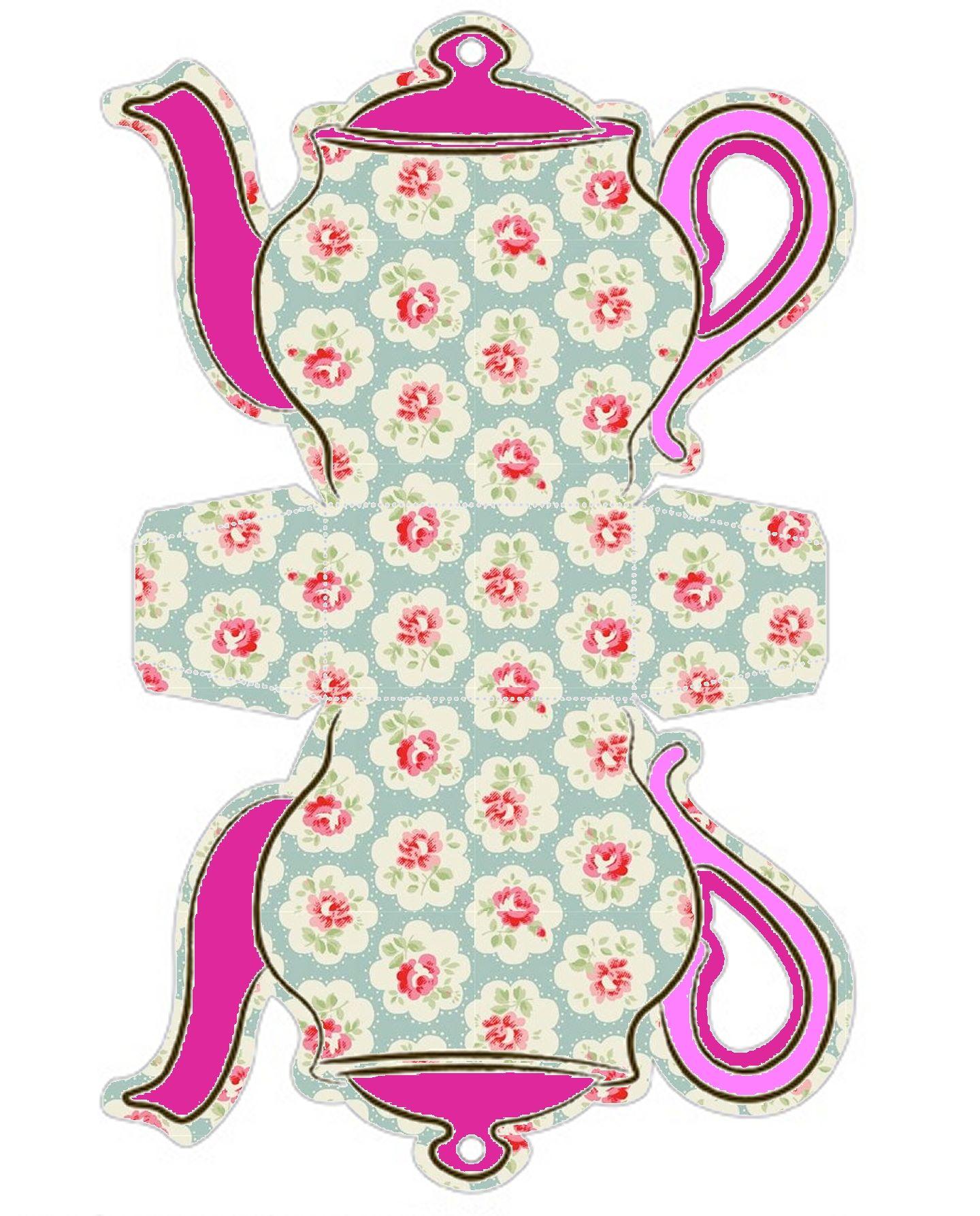 Открытки, чайник из бумаги своими руками шаблоны