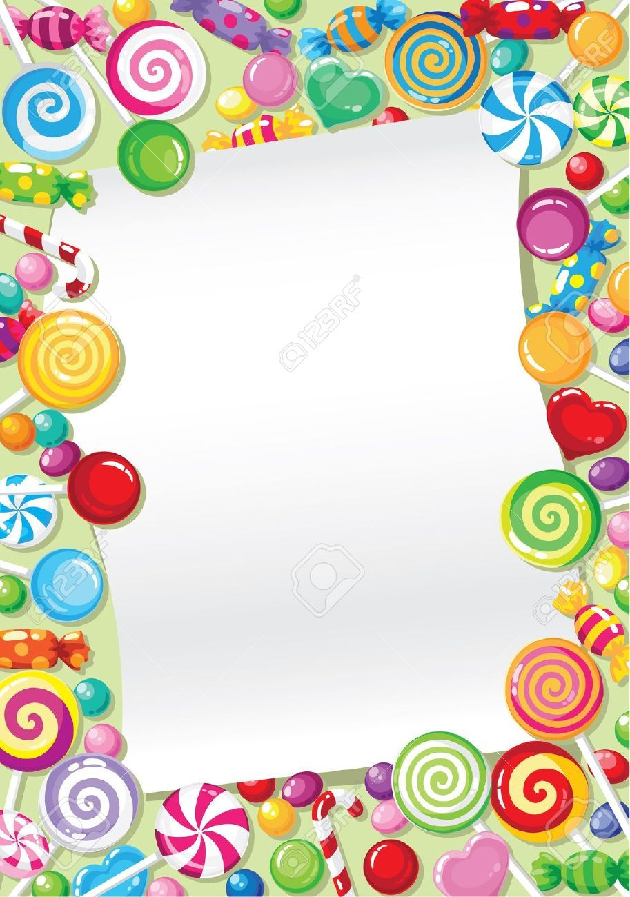 10486999-illustration-of-a-candy-card-Stock-Vector-candy ...