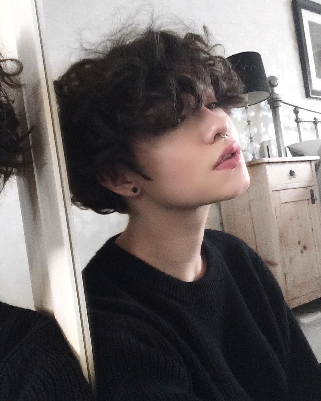 IG: @mimenoke | Jada-Min Park #tomboyhairstyles IG: @mimenoke | Jada-Min Park | Tomboy hairstyles, Short hair styles, Curly hair styles