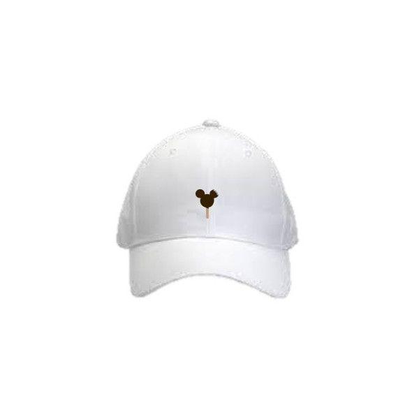 95b38eff750c4 Mickey Ice Cream Bar Baseball hat Disney World Disneyland dad hat-... ( 26)  ❤ liked on Polyvore featuring accessories