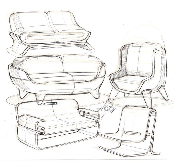 Sofa Sketches Id Design Product Sketch Furniture Furniture Design Sketches Design Sketch Furniture Sketch