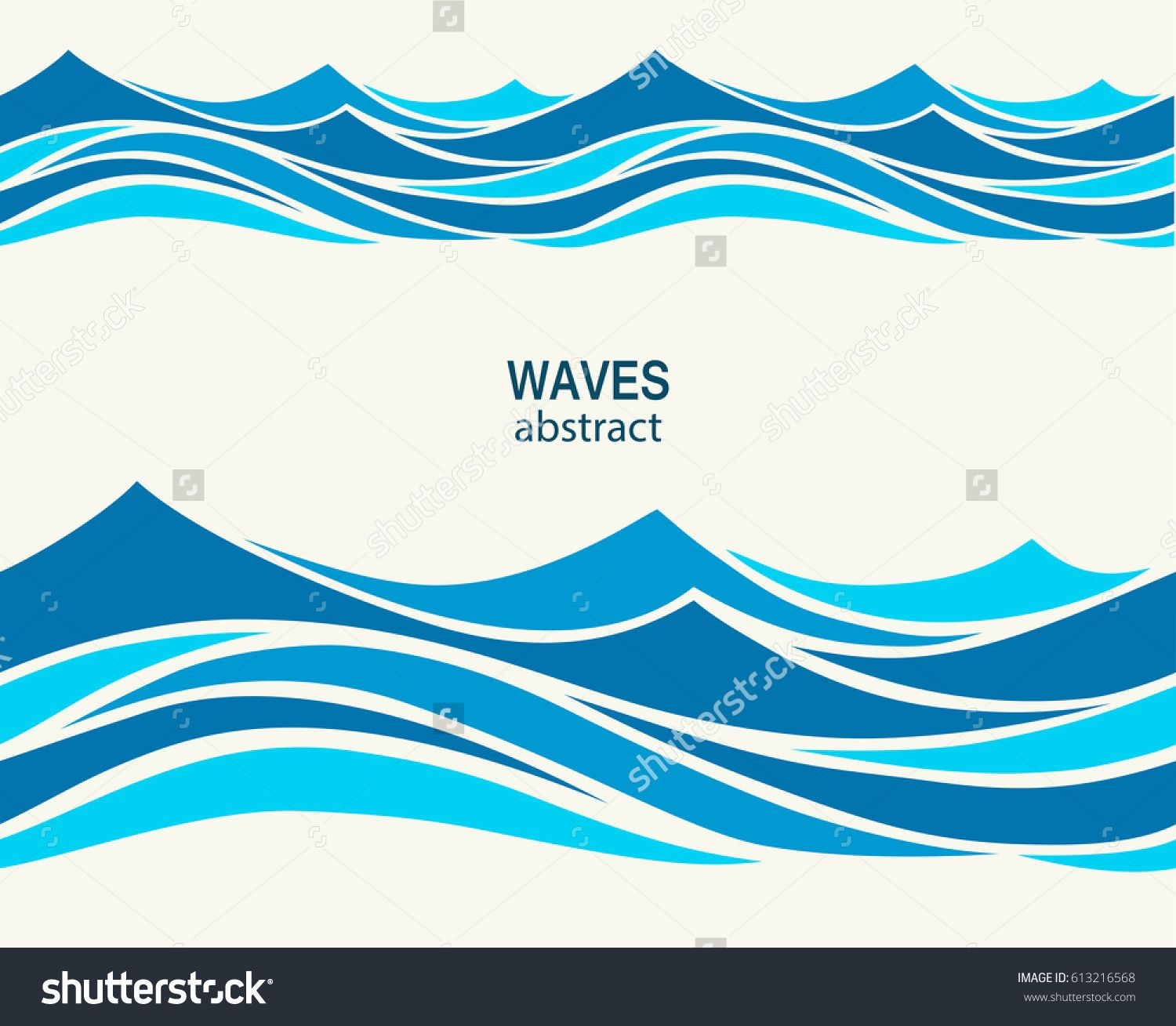 Ocean wave sketch ocean waves audio wave pinterest wave marine seamless pattern with stylized blue waves on a light background water wave abstract design amipublicfo Images