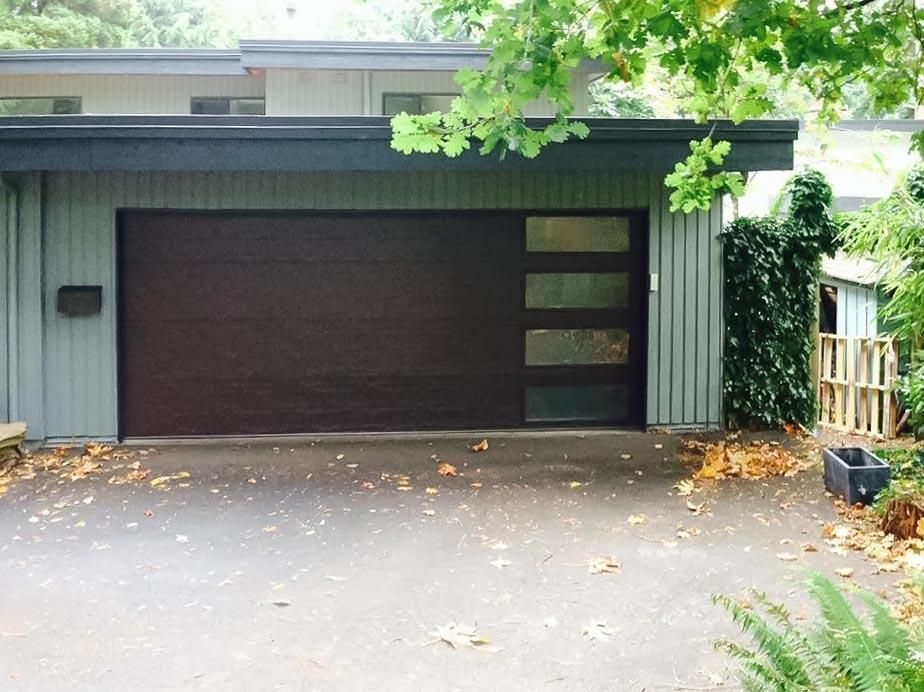 Clopay Metal Garage Door Premium Collection Modern Flush Panel