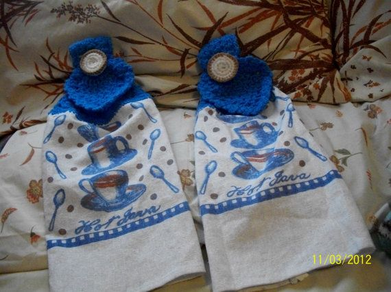 Hand Towels set of 2 by Saranapolis on Etsy, $10.00