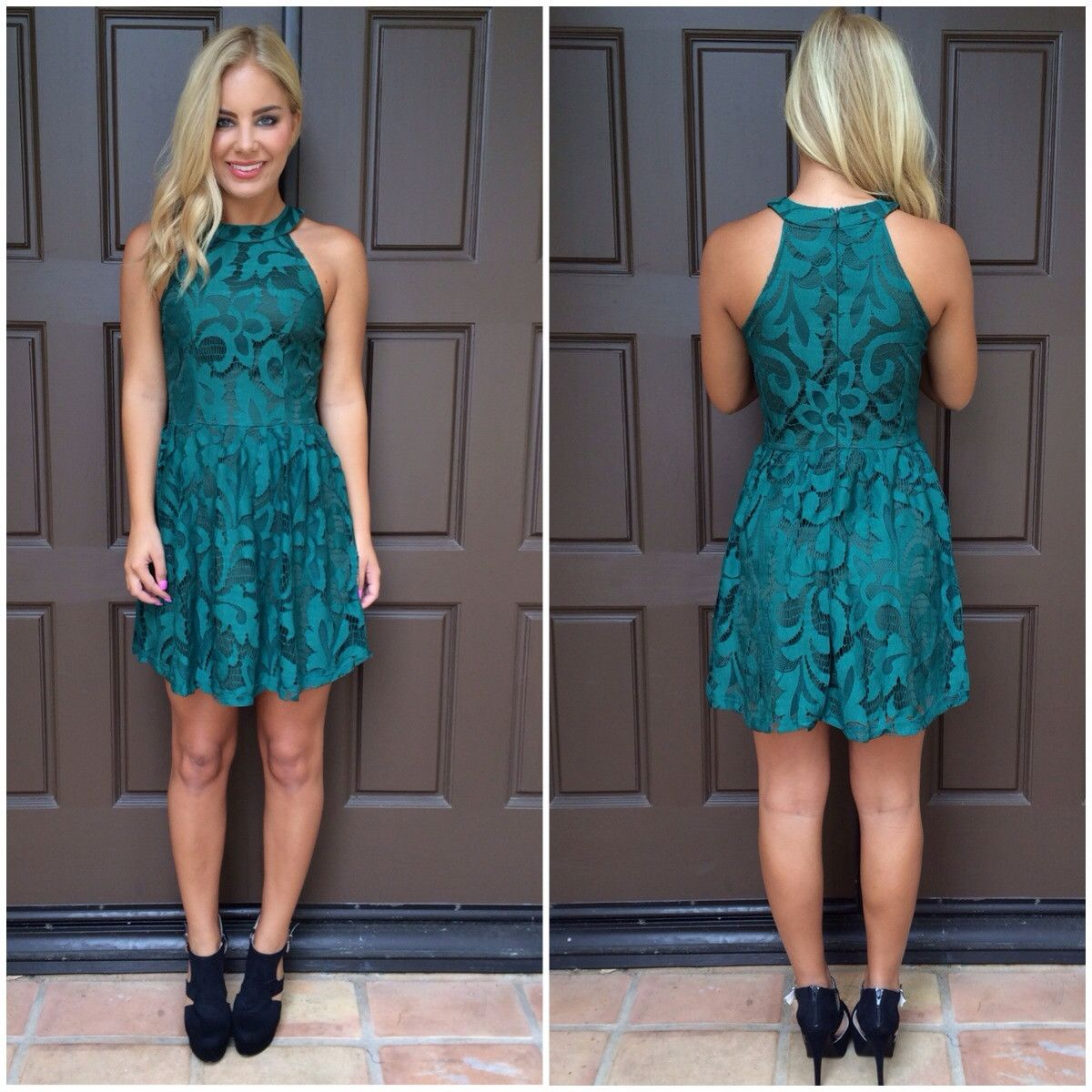Vines of envy emerald dress from dainty hooligan put it on me