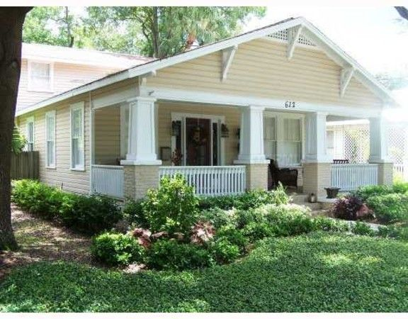 Craftsman Bungalow House Plans New Tampa Bungalows The