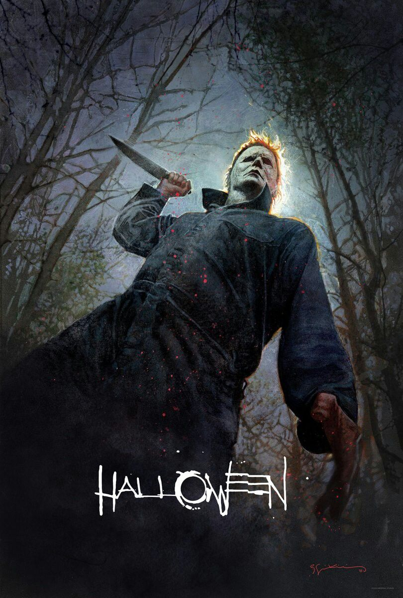 Pin By Nathan Vannest On Michael Myers Halloween Movie Poster Horror Movie Posters Halloween Film