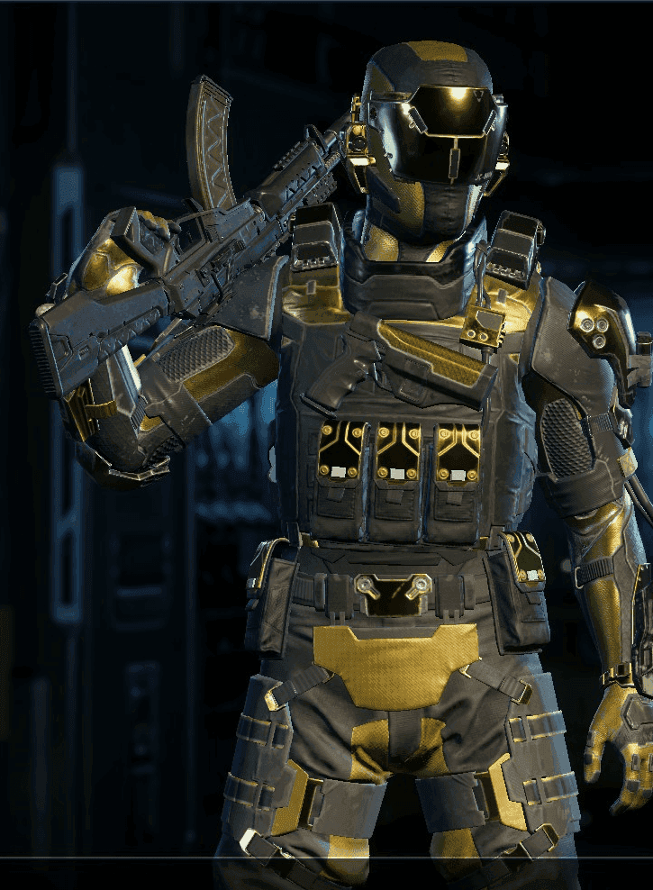 Black Ops 3 Spectre Hero Armor Personagem
