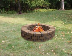 Syracuse Fire Ring From Menards 87 00 Fire Ring Menards Outdoor Fire Pit