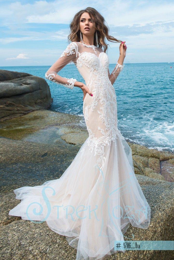 Wedding Dress Bia   STREKKOZA COLLECTION MAGIC OCEAN 2018 ...