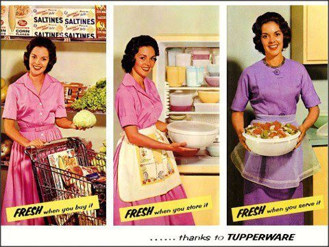 Just A Thought To Keep It Fresh Www Lockinfreshness Com Tupperware Party Vintage Tupperware Tupperware