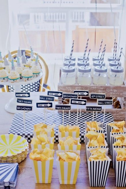 Liam S 1st Nyc Bistro Birthday Party The Doctor S Closet New York Party New York Theme Party Party Entertainment