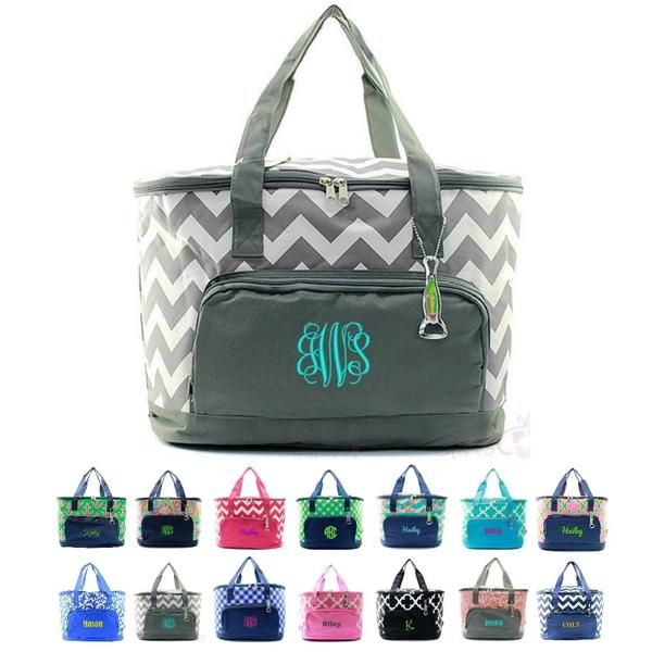Personalized Cooler Bag Large Insulated Tote Pmv Ace 89 All