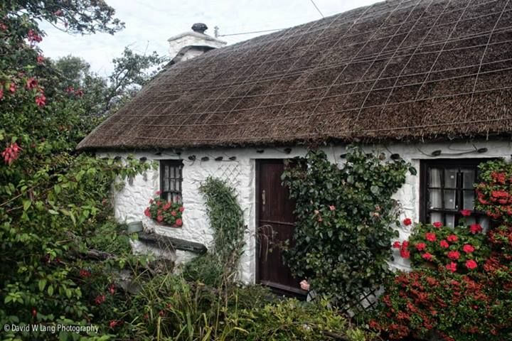 Manx cottage by David W Lang Photography