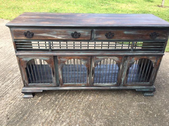 Image result for dog kennel ideas | Dog crate furniture