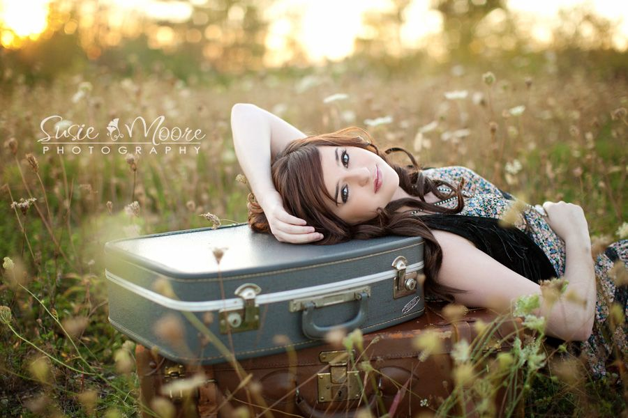 Beautiful senior shot, this girl has so many great poses (and the cutest clothes!)