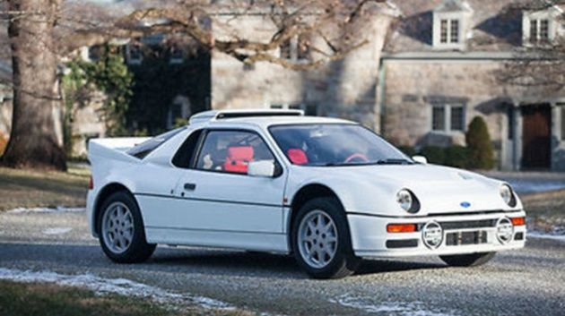 One Of Only 24 Group B Rally Ford Rs200 Evolutions For Sale On