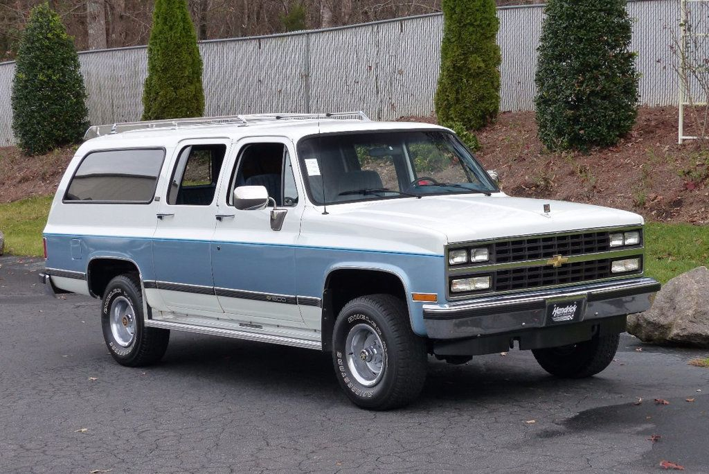 1990 Chevrolet Suburban V1500 15816657 7 Chevrolet Suburban Classic Cars Trucks High Performance Cars