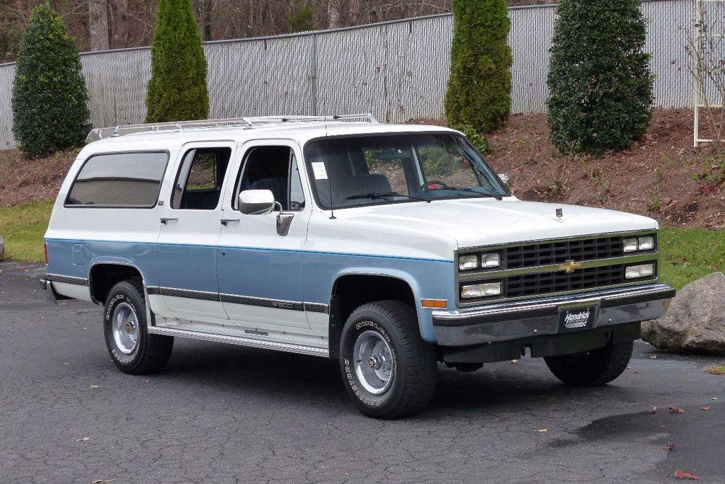 1990 Chevrolet Suburban V1500 15816657 7 Chevrolet