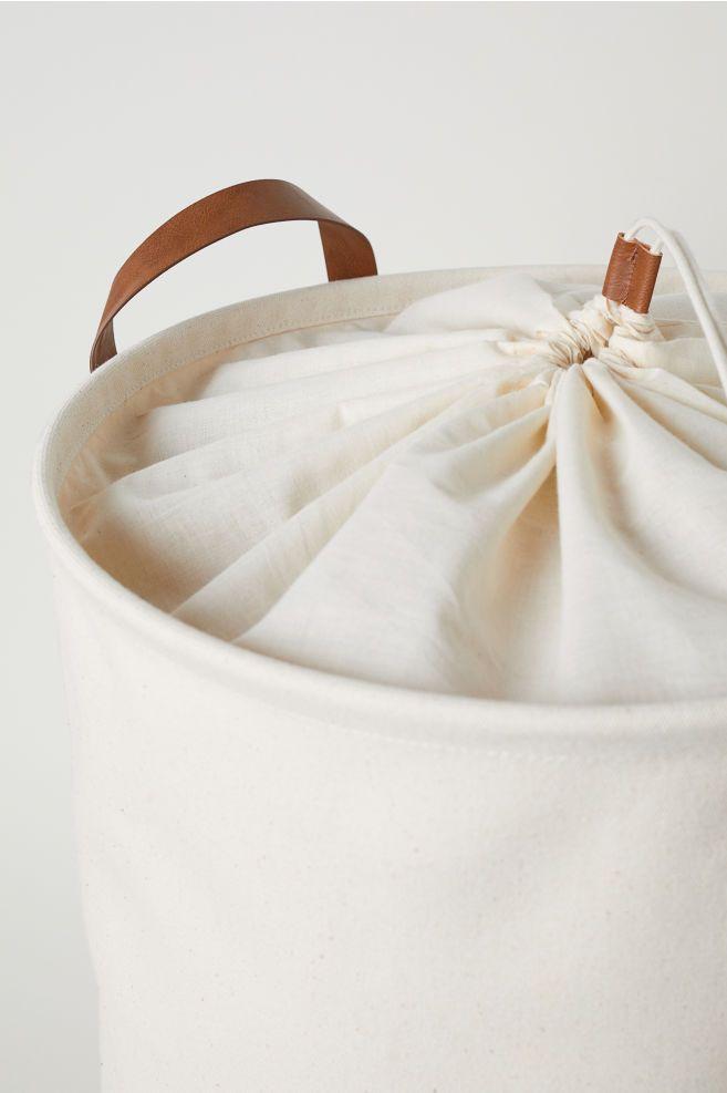 Cotton Twill Laundry Bag Laundry Laundry Hamper Plastic Coating