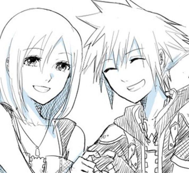 Soraxkairi You don\'t know We are lovers   Kingdom Hearts   Pinterest ...