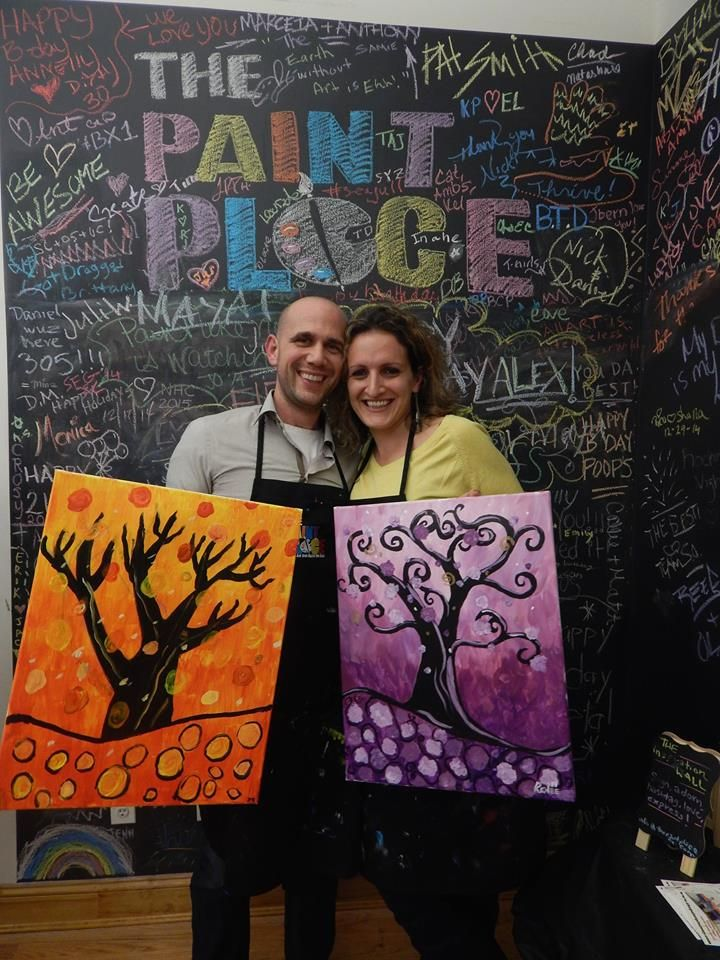Paint your own keepsake at The Paint Place in NY! ThePaintPlaceNY.com #thepaintplaceny #treeoflife #treepainting #tree #trees #colorful #paintyourown #paintclass #painting #painter #paint #inspiration #Inspire #create #creative #creativity #art #artsy #artclass #newyorkartclass #nyartclass #artclassinnyc #thingstodoinnyc #nycart #nyart #friends #family #exploreny