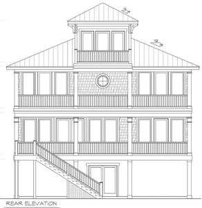 Plan 15033nc Beach House Plan With Cupola Beach House Plans Beach House Plan Coastal Cottage