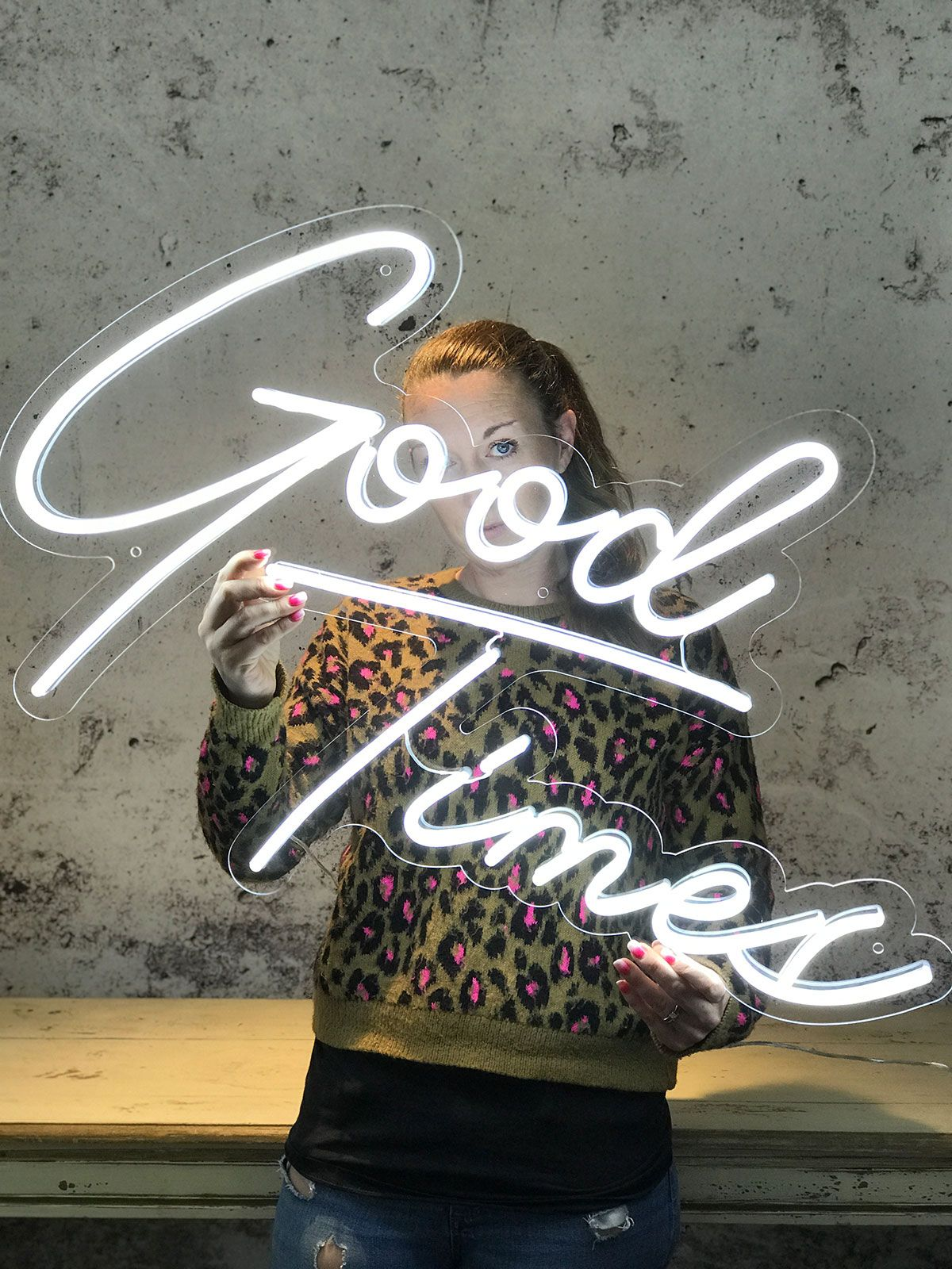 Good Times LED Neon light in 2020 Led neon signs, Neon